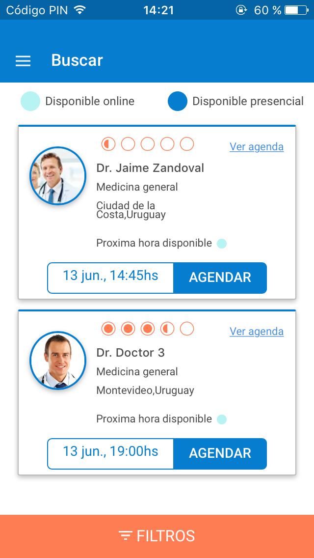 telemedicine mobile app doctor