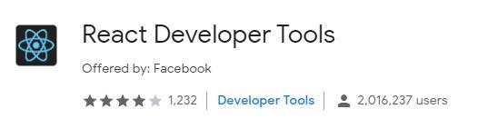 React Developer Tools - Downloaded