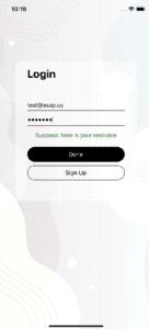 node js login verification